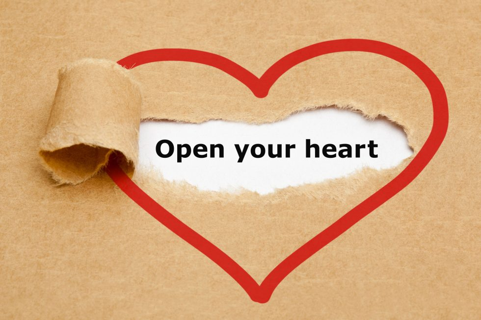 Too busy to talk… or are you closing your heart?