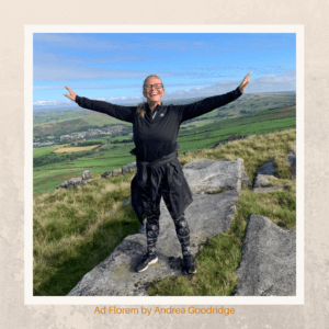 Andrea Goodridge - Ad Florem on top of the world