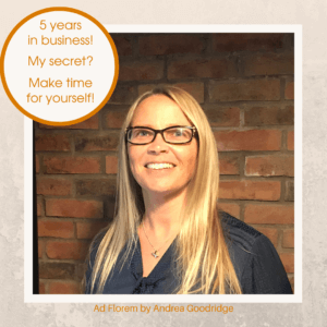 Andrea Goodridge - the secret to her business success