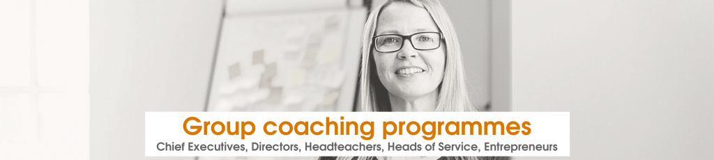 Andrea Goodridge providing group coaching
